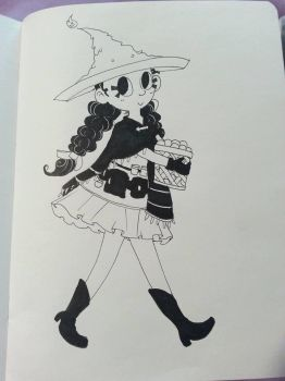 Merchant Witch by chubbynugget
