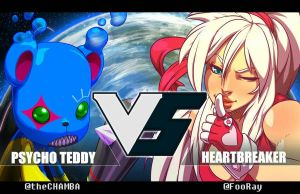 Psycho Teddy VS HeartBreaker by theCHAMBA