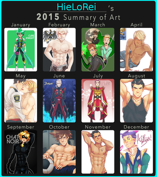 late 2015 art summary by hielorei