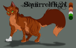 1.Squirrelflight Warrior Cat Challenge by ipann