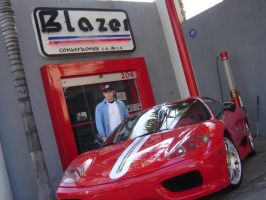 Challenge Stradale and me by BenjiPrice
