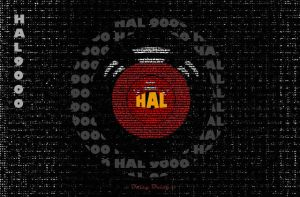 Hal 9000 by WhiteFox214