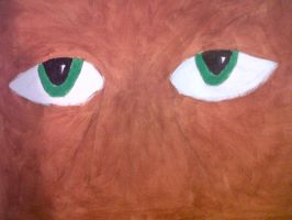The eyes of Big Foot by niki1313