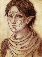 Merrill by trixdraws