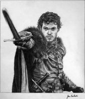 Robb Stark by Smoses