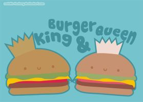 King and Burger Queen by natalia-factory