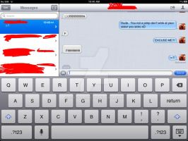 Why my brother shouldn't be able to text xD by S-K-Y-L-I