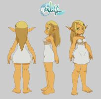 Wakfu - Eva Turn around by jaguare19