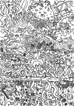 Colour the Madness by Size-And-Stupidity