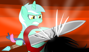 NATG 2 - #7 Pony Facing Conflict by Alexstrazse