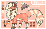 Faun Reference Sheet by Kitsurie