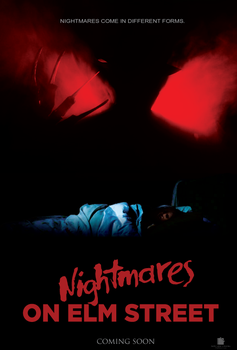 Nightmares on Elm Street Poster by Jarvisrama99