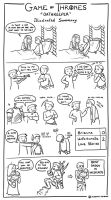 Game of Thrones 4x04 - Illustrated Summary by AlessiaPelonzi
