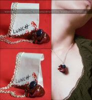 take my heart - necklace by AngelaBermudez
