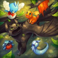 Dragon Sitting by Flying-Fox