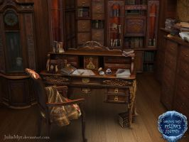 Santas cabinet by JuliaMyr