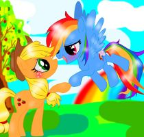 MLP  AppleDash by ScarKa