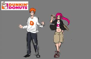 Dunkin and Donuts by ZeroTheRaptard