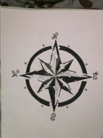 Compass Rose by cfilly