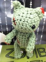 Amigurumi Zombie Cat by NerdStitch