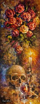 To Be Or Not To Be by Leonid Afremov by Leonidafremov