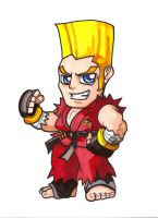 Pocket Fighter - Paul Phoenix by fastg35
