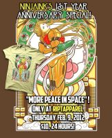 1 Year Anniversary Special by ninjaink