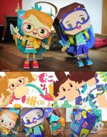 papertoy tiago and fer by lilibz