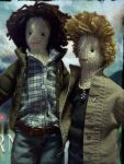 Supernatural dolls4 by xxTaylerxx