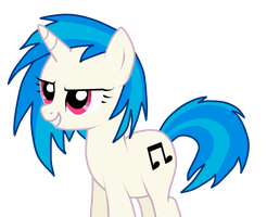 Vinyl Scratch by Luuandherdraws
