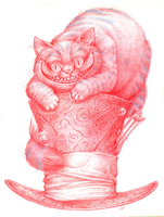 Cheshire cat by Pjevsen