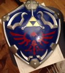 Twilight Princess Hylian Shield by Miharichu-Emi