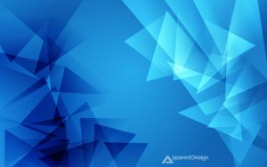 When Triangles Collide by Apparent-Design