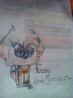 Fuzzy - Never give up  (New sona? ) by cyancrap
