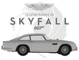 Legend is back in Skyfall 007 by JAMES-MI6
