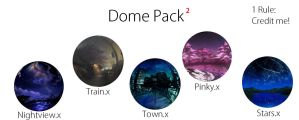 .:Skydomes:. Skydome Pack 2 by MMDAnimatio357