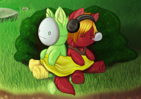Sleepy in traplands by Buizel149