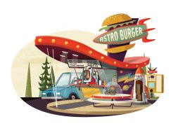 Astro Burger by TheBeastIsBack