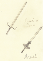 Two Swords by TMcIsrael