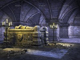Dracula's Crypt by Trisste-stocks