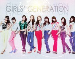 Girls' Generation by satoo-yuki