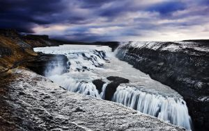 Gullfoss by justinblackphotos