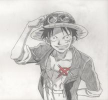 Luffy D. Monkey by DeiNyght