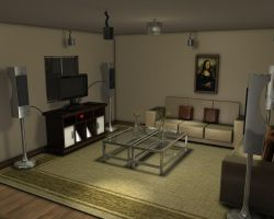 Living Room v2 by Rexony