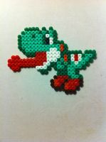 Yoshi - perler beads by Rest-In-Pixels
