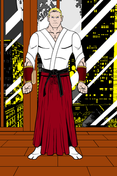 Geese Howard - Fatal Fury by MetalHarbinger084