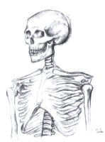 Skeleton Body Charcoal 2 by PauloDuqueFrade