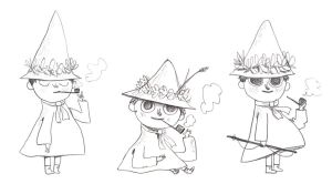 Snufkin by elbooga