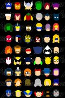 Marvel Iconz: Avengers by Yusef-Muhammed