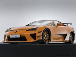 Lexus LFA by KKdesigns1